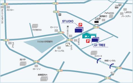 ot TREE地図